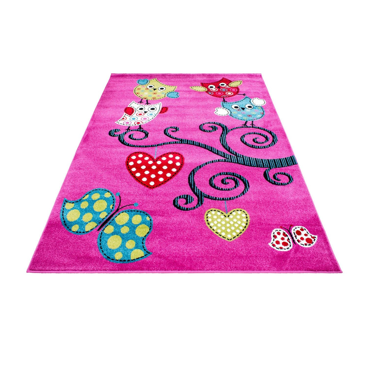Kids Childrens Soft Quality Bedroom Blue Pink Car Rugs Extra Large Inside Extra Large Kids Rugs (Image 9 of 15)