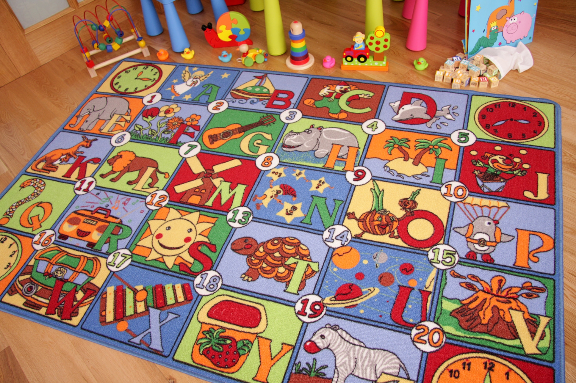 Kids Contemporary Rugs Throughout Children Rugs (Image 7 of 15)