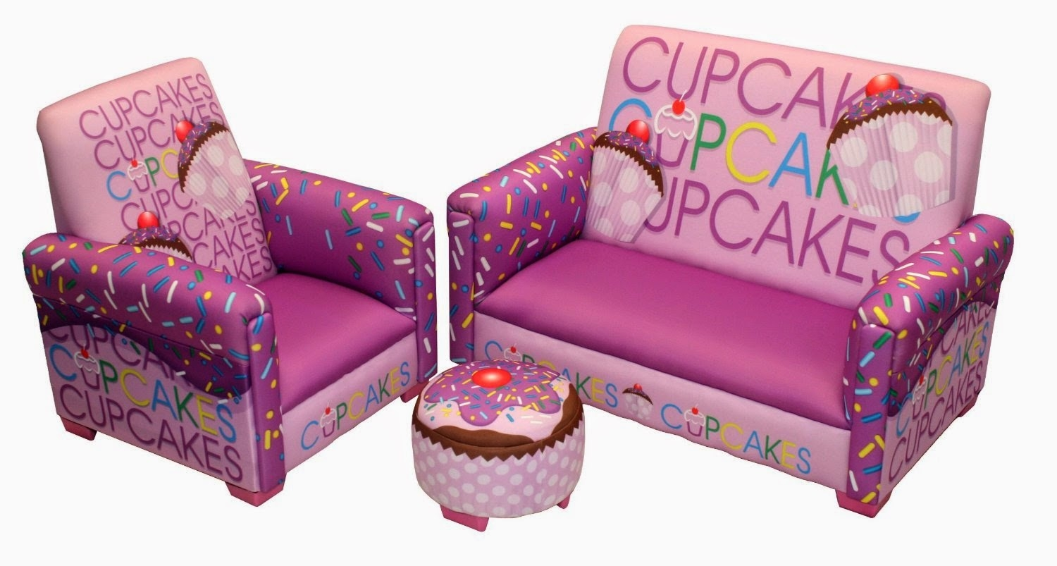 Kids Foam Couch For Kids Sofa Chair And Ottoman Set Zebra (Photo 10 of 15)