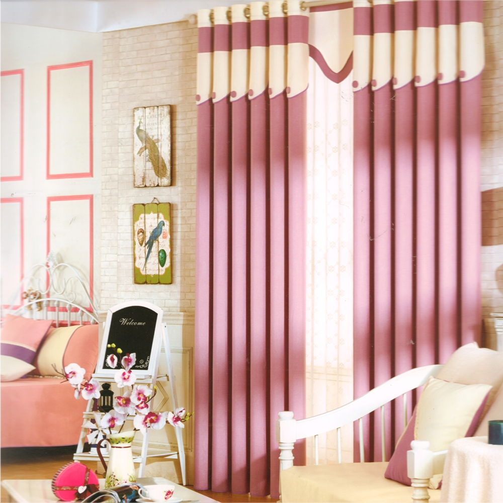 Kids Room Blackout Curtains Pink Purple Color Within Purple Curtains For Kids Room (Image 17 of 25)