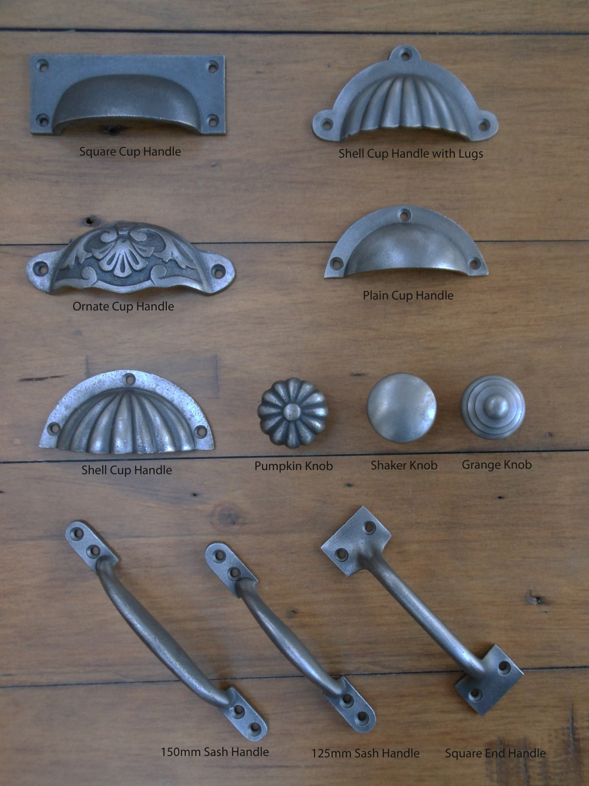 Kitchen Accessories Kitchen Cup Handles Ebay Vintage Cast Iron Intended For Vintage Cupboard Handles (View 24 of 25)