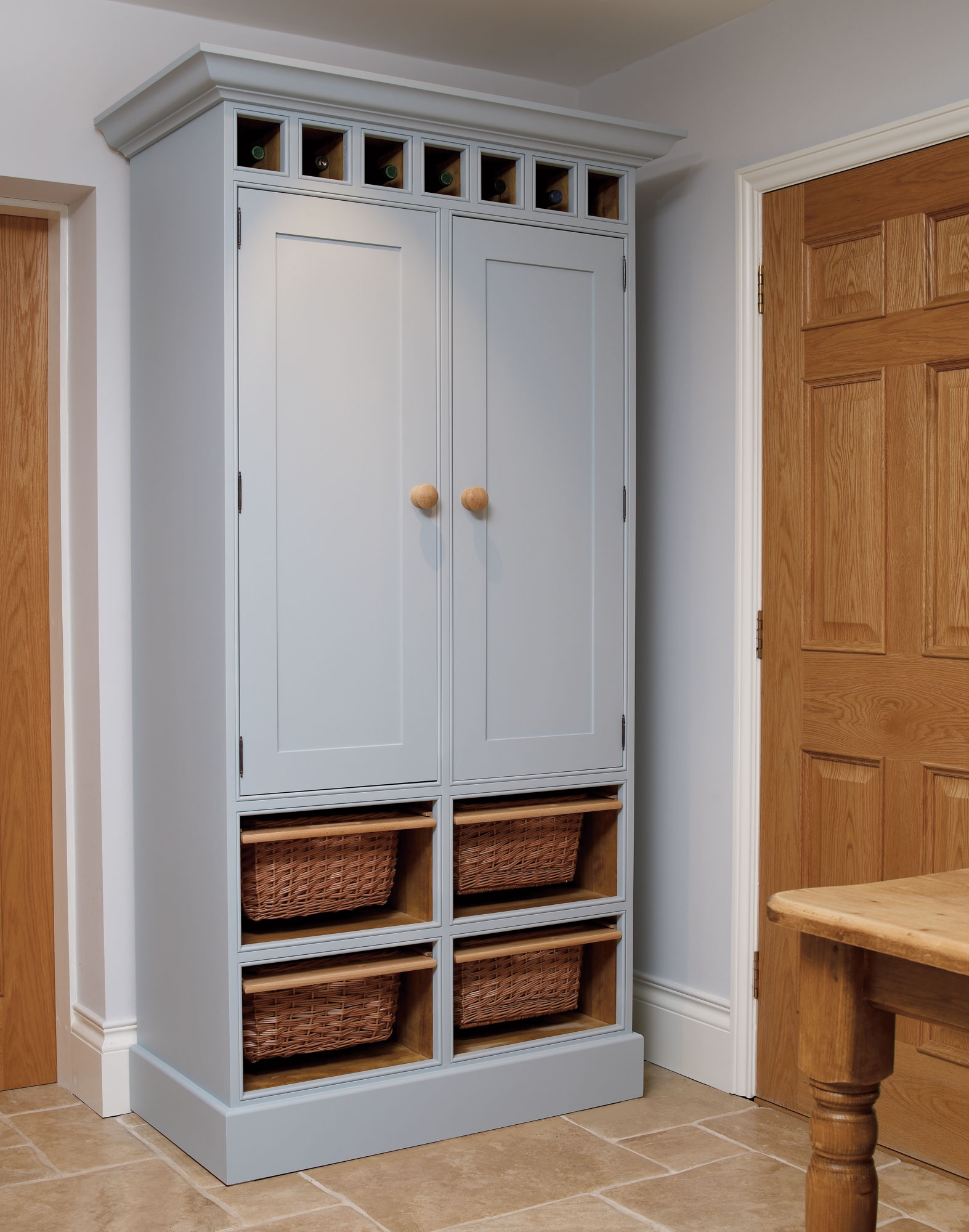 Kitchen Larder C The Bespoke Furniture Company For Free Standing Kitchen Larder Cupboards (View 24 of 25)