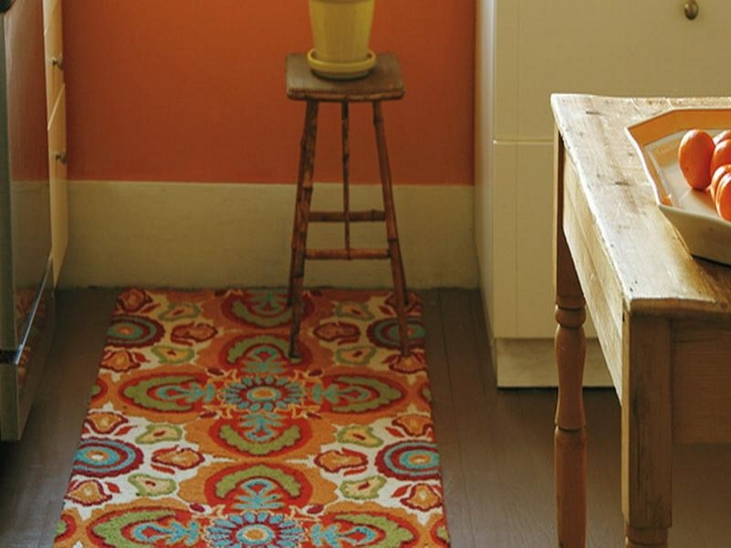 Kitchen Machine Washable Kitchen Rugs00031 Functional Machine Throughout Cotton Rugs For Kitchen (Image 8 of 15)