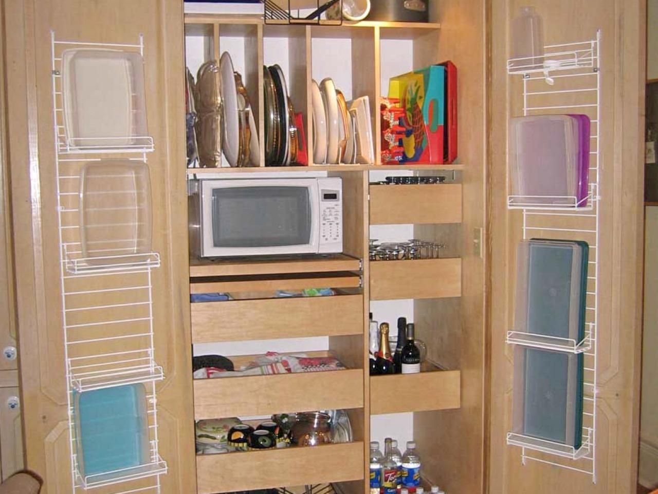 Kitchen Room Pantry Ideas Pantry Storage Cabinets For Kitchen For Storage Racks For Kitchen Cupboards (Image 17 of 25)