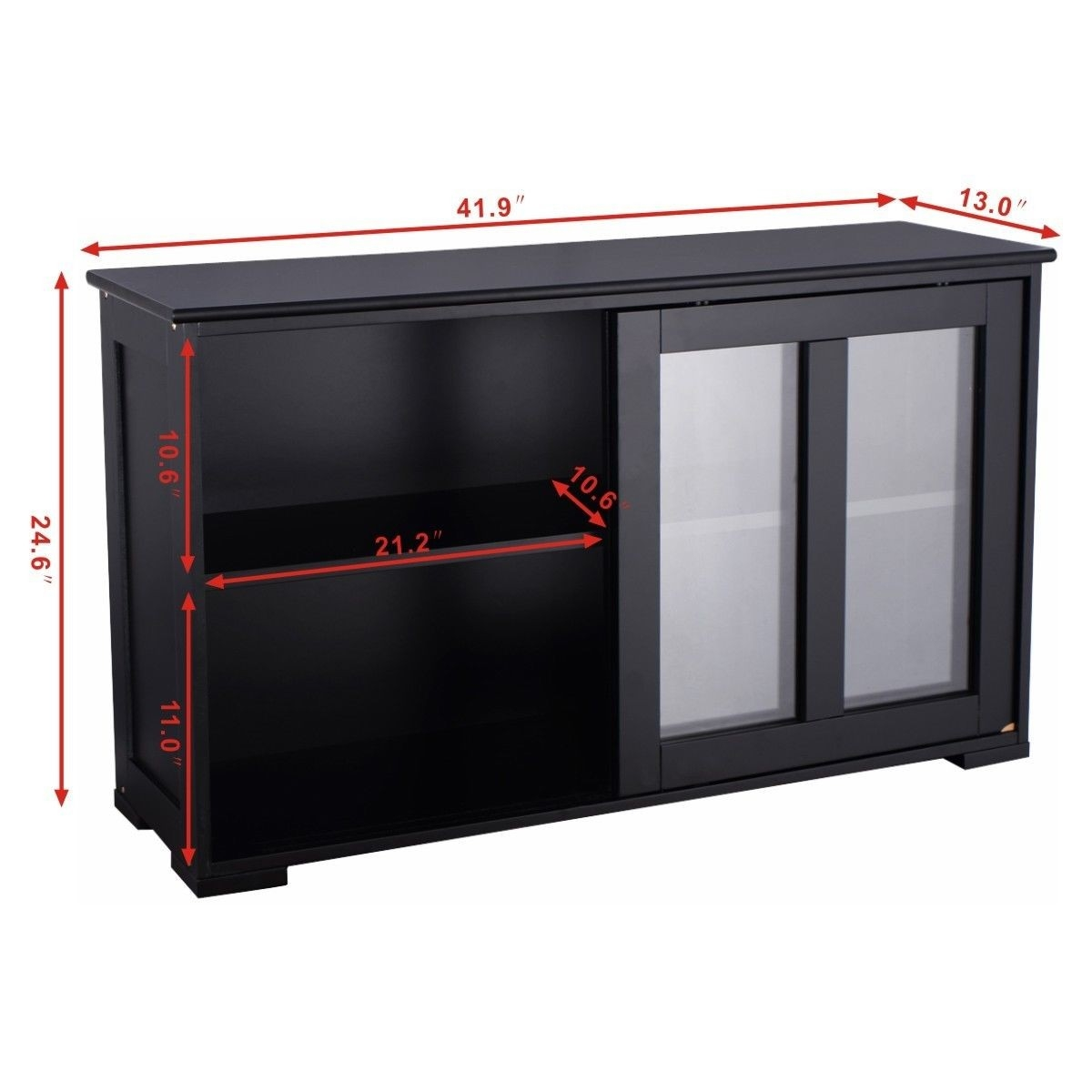 Kitchen Storage Cabinet With Glass Sliding Door Kitchen Cabinets Inside Cupboard Sliding Doors (Image 12 of 25)