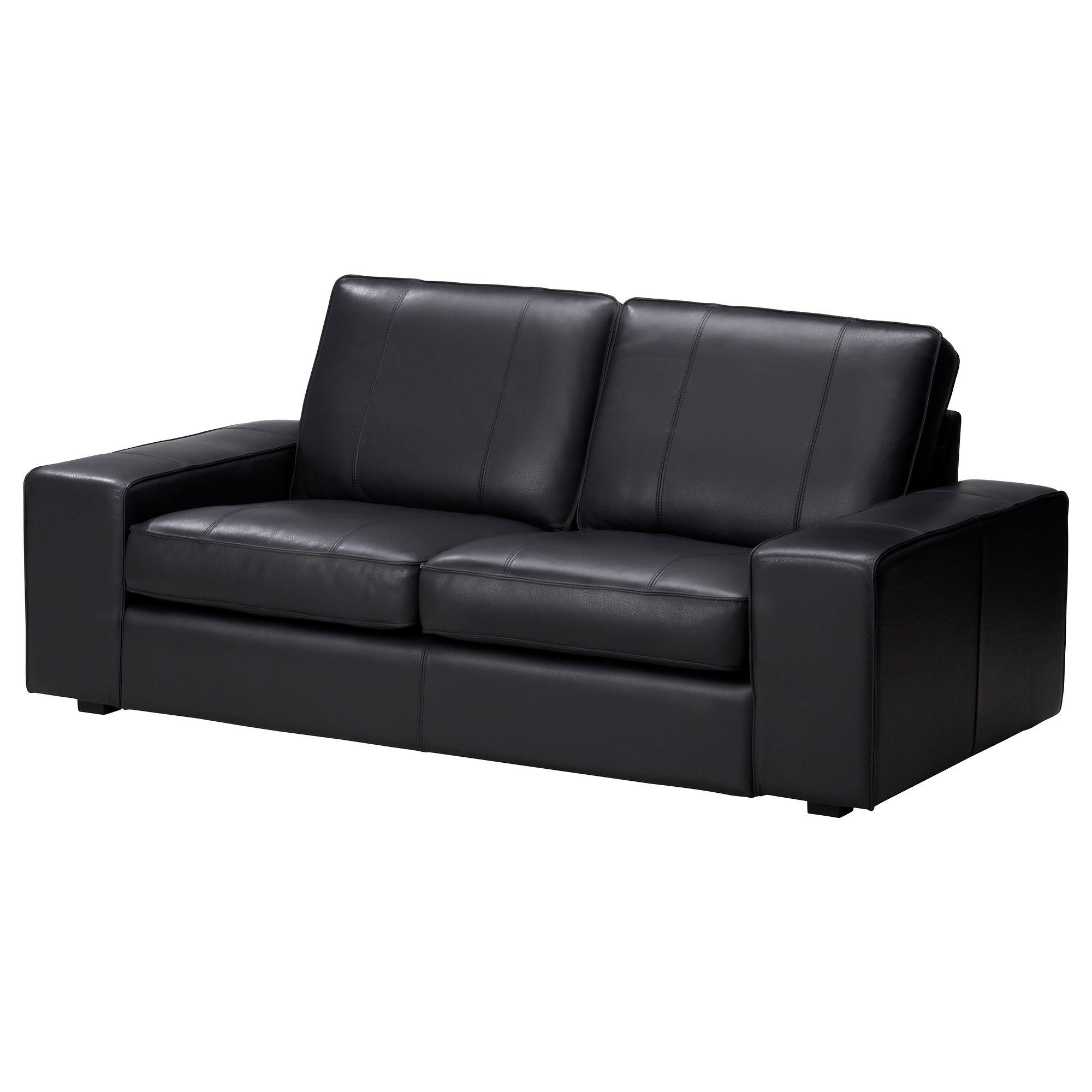 Kivik Two Seat Sofa Grannbomstad Black Ikea In Two Seater Sofas (Image 12 of 15)