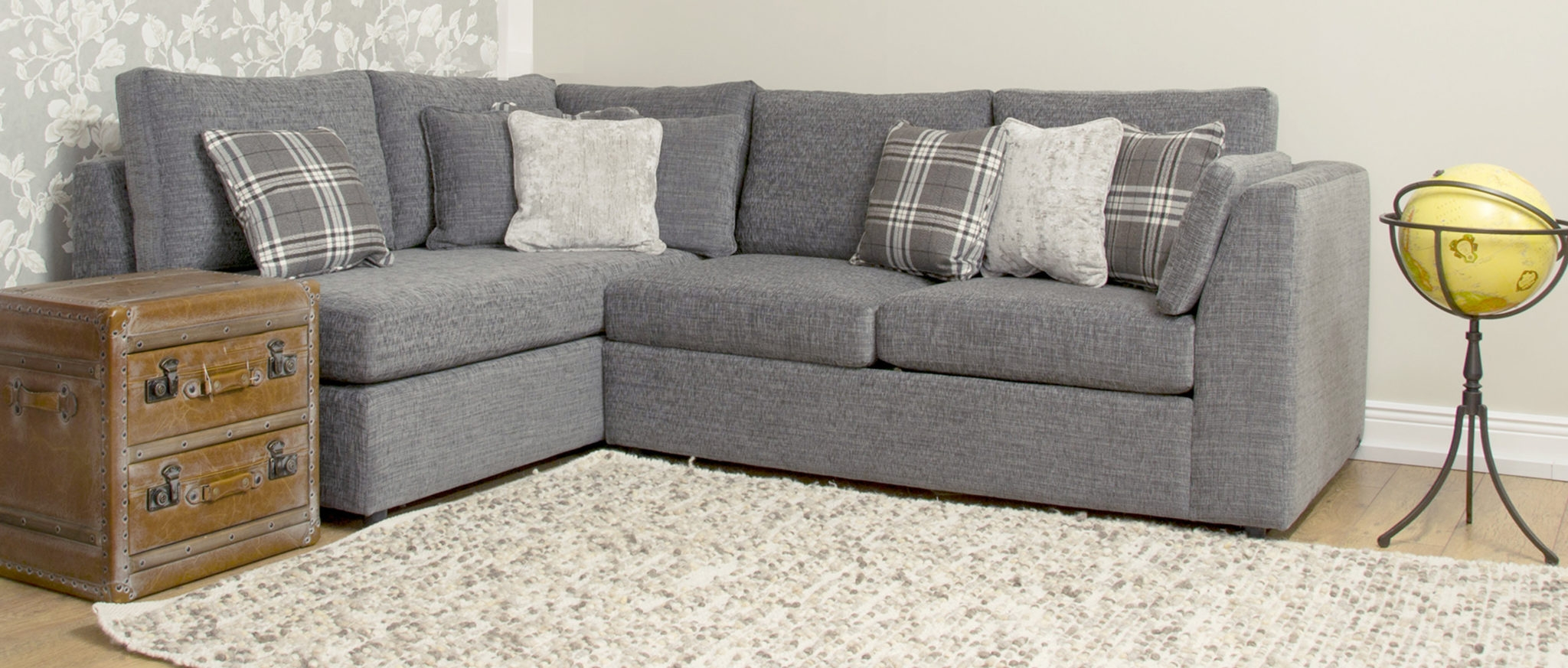 Klaus Corner Sofabed Corner Groups Range Finline Furniture With Bespoke Corner Sofa Beds (Image 12 of 15)