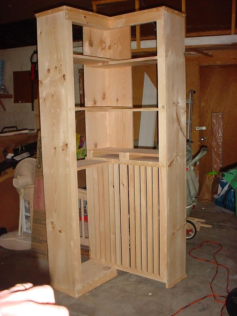 Lakota Custom Designs Custom Solid Wood Furniture All Solid With Radiator Bookcase Cabinets (View 12 of 15)