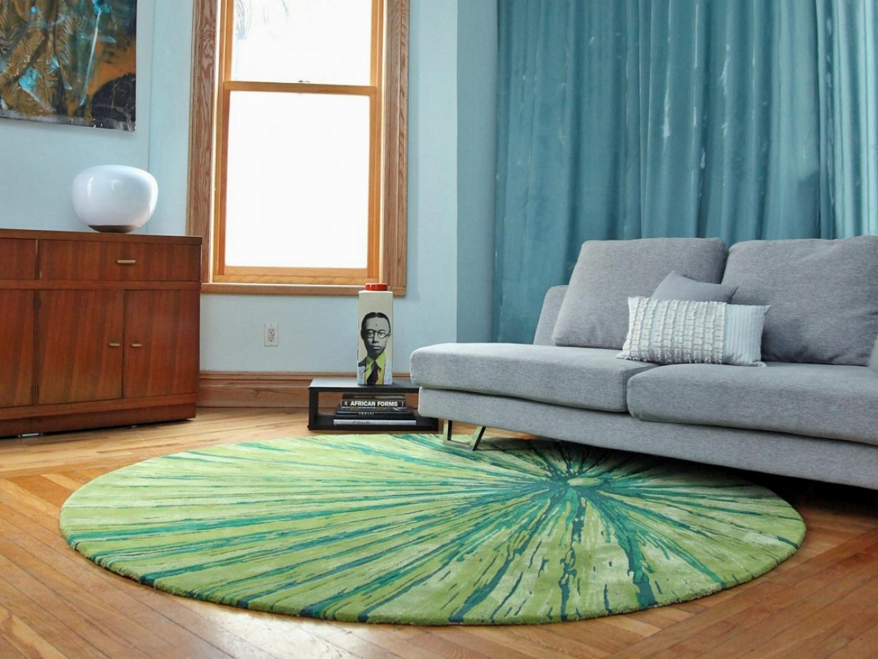 Large Green Rugs Roselawnlutheran For Circular Green Rugs (Image 9 of 15)