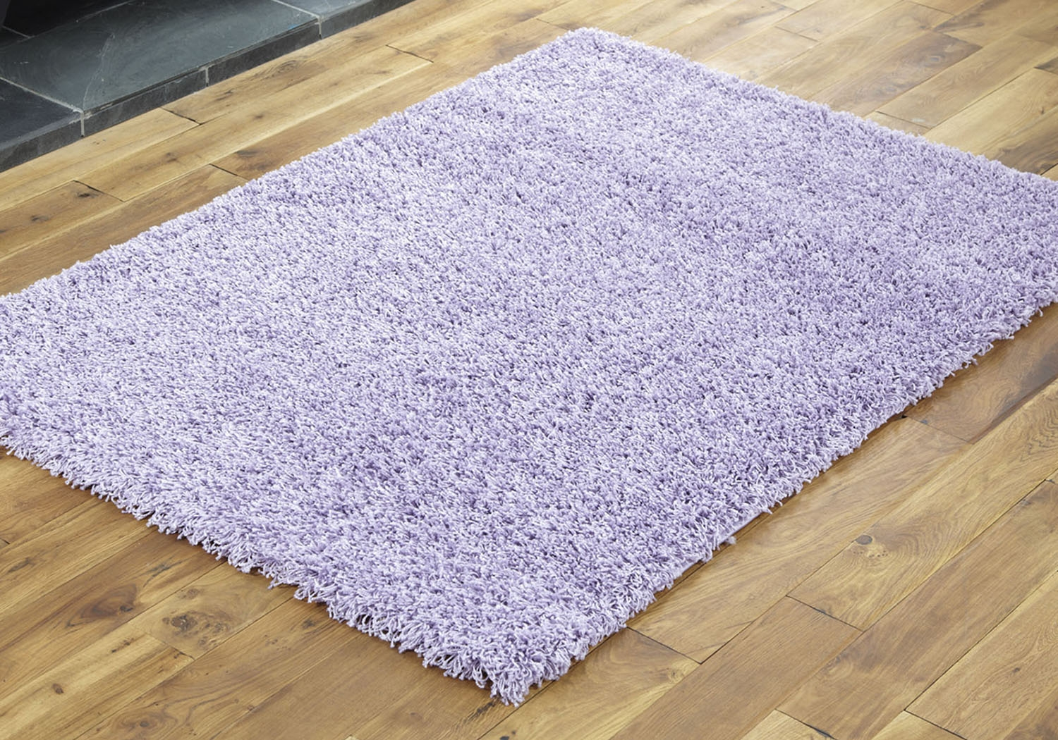 Large Medium Small 5cm Pile Plain Soft Luxurious Lilac Colour With Regard To Lilac Rugs (Image 5 of 15)