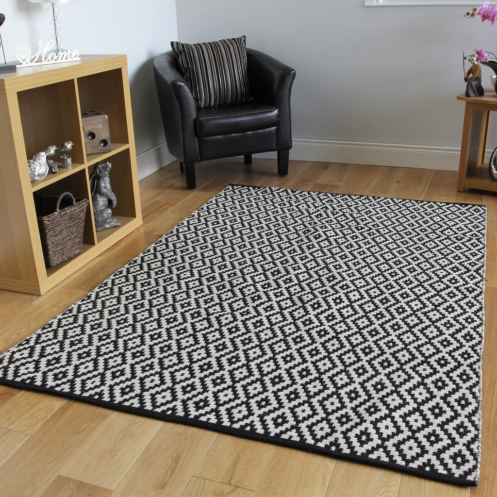 Large Modern Rugs Roselawnlutheran Within Large Geometric Rugs (View 3 of 15)