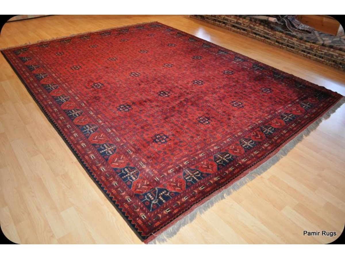Large New Turkmen Khal Mohammadi Wool Rug From Afghanistan Ask For Pertaining To Large Wool Rugs (Image 4 of 15)