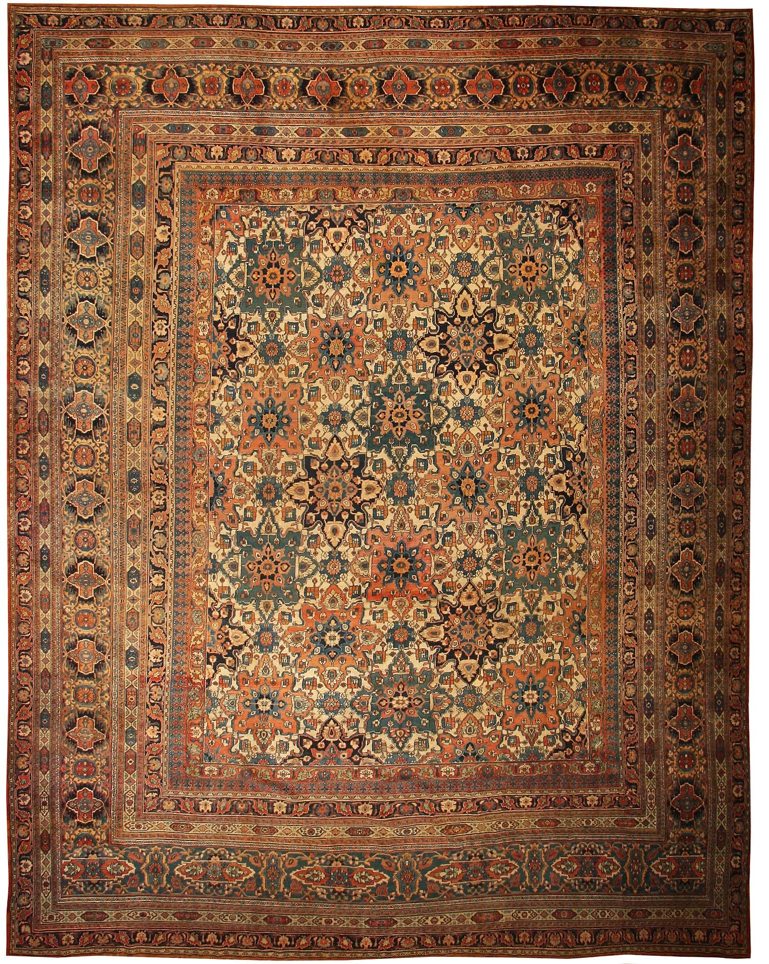 Large Oversized Antique Khorassan Persian Rug 44046 Nazmiyal Throughout Carpet Rugs (Image 8 of 15)