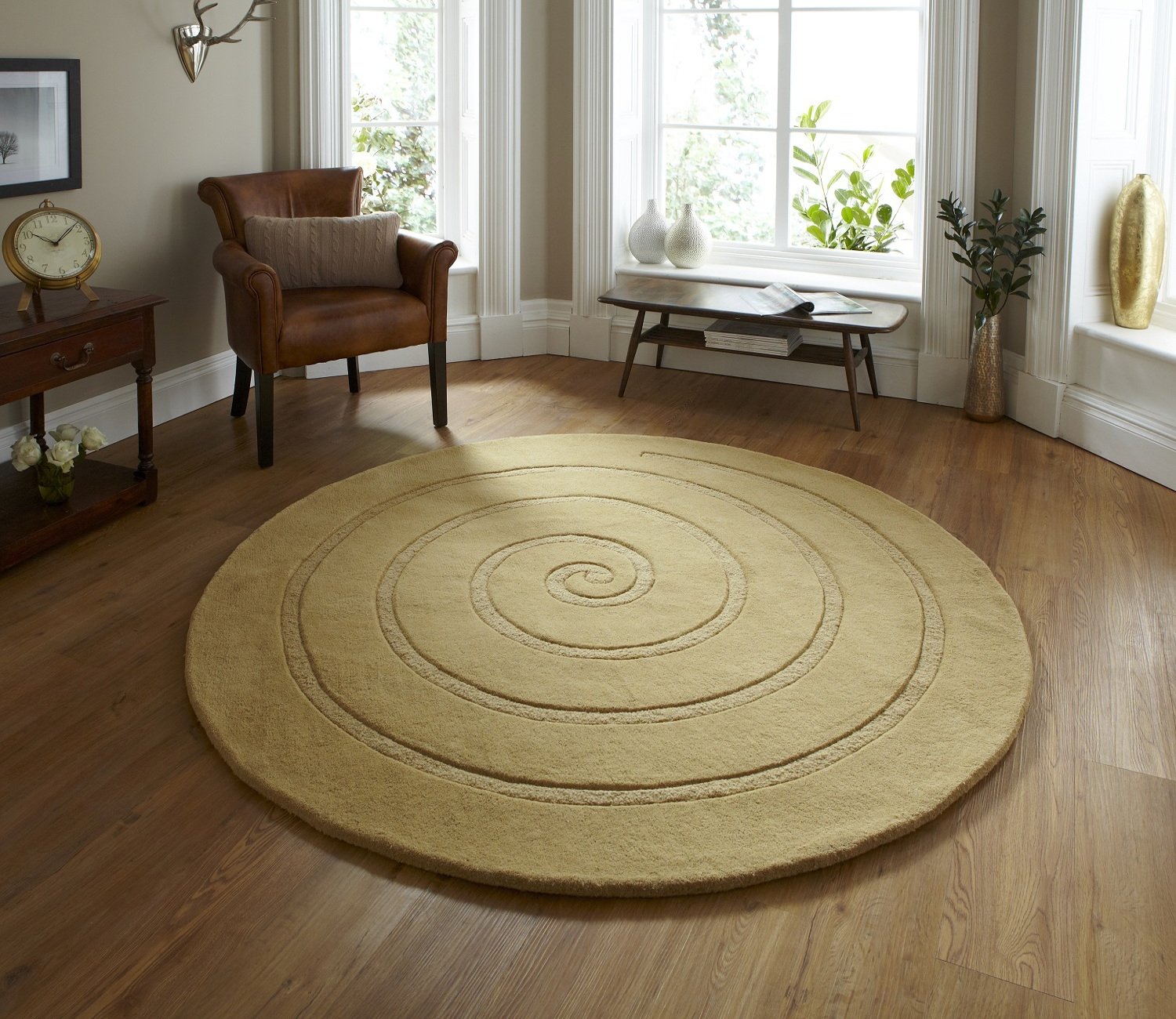 Large Round Rugs Home Decors Collection In Small Circular Rugs (Image 8 of 15)
