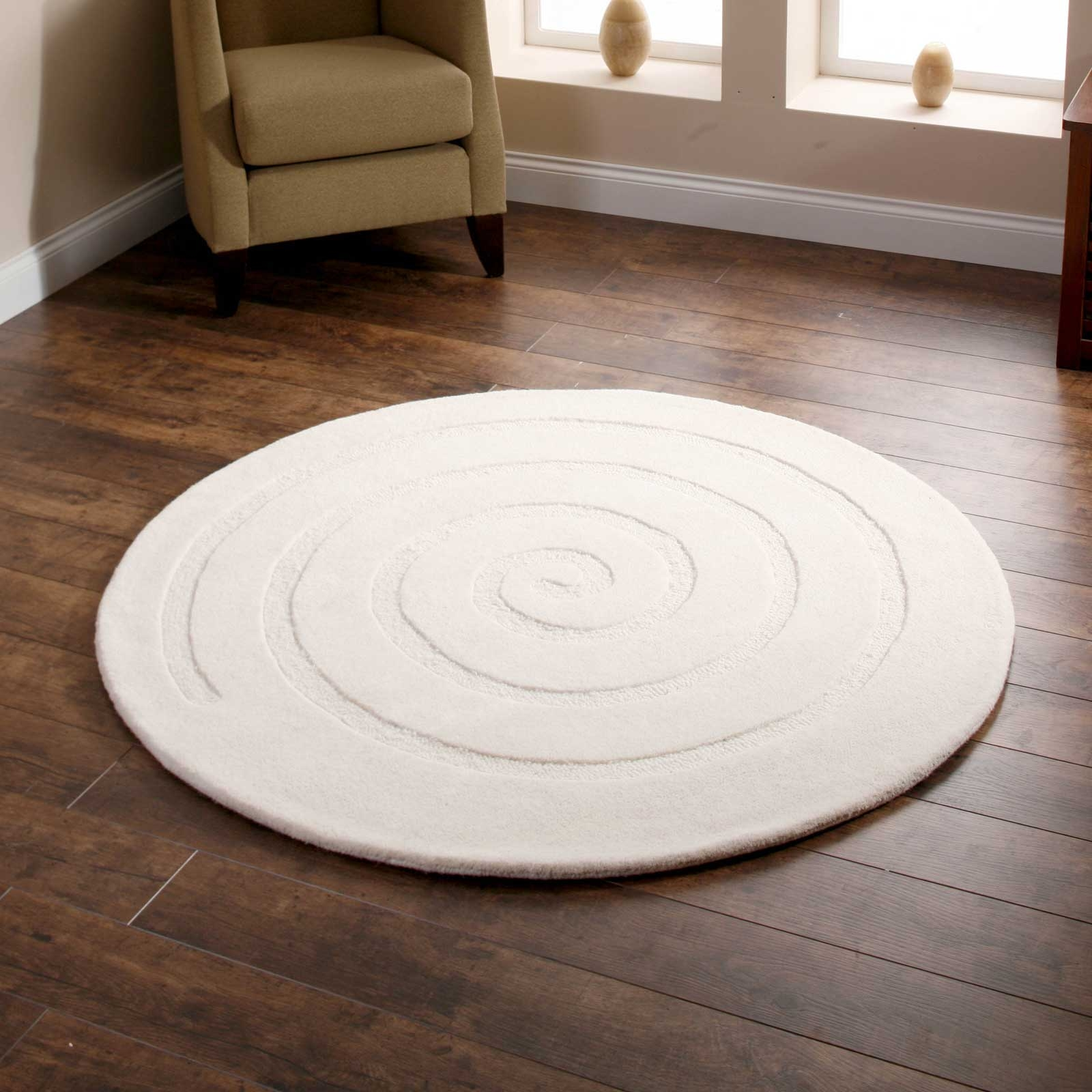 Large Round Rugs Uk Roselawnlutheran Within Small Circular Rugs (Image 9 of 15)