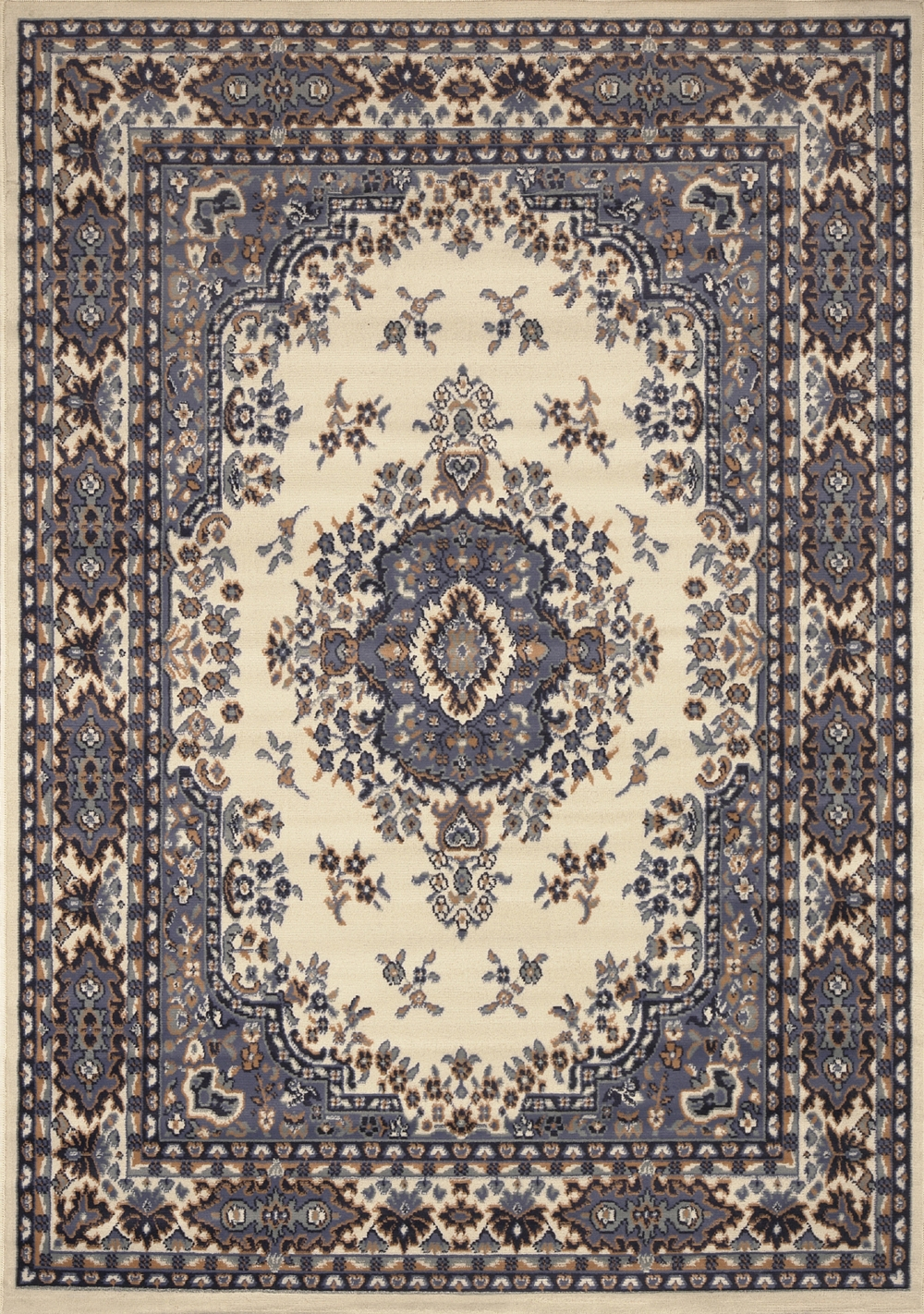 Large Traditional 8×11 Oriental Area Rug Persian Style Carpet Intended For Persian Style Wool Rugs (View 2 of 15)