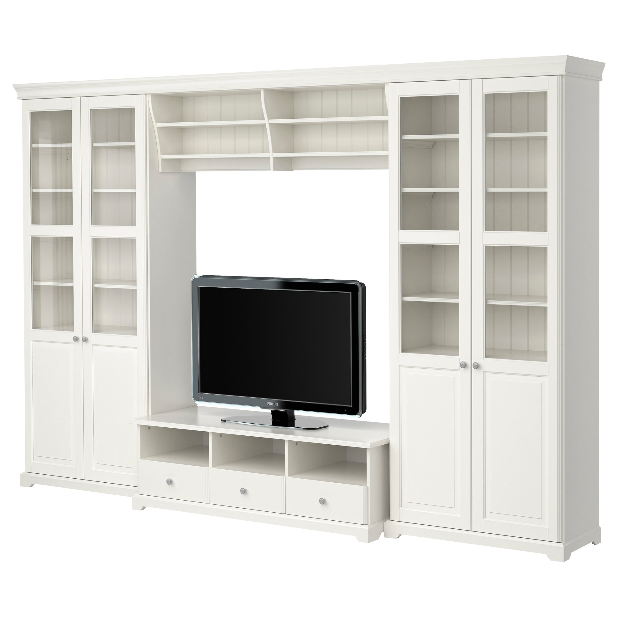 Large Tv Stands Entertainment Centers Ikea In Large Cupboard With Shelves (Image 16 of 25)