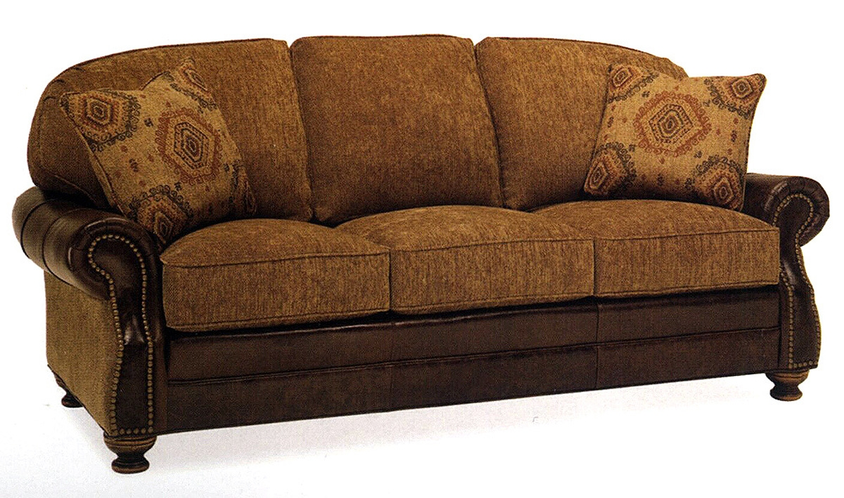 Leather And Fabric Sofas 61 With Leather And Fabric Sofas With Regard To Fabric Sofas (Image 12 of 15)