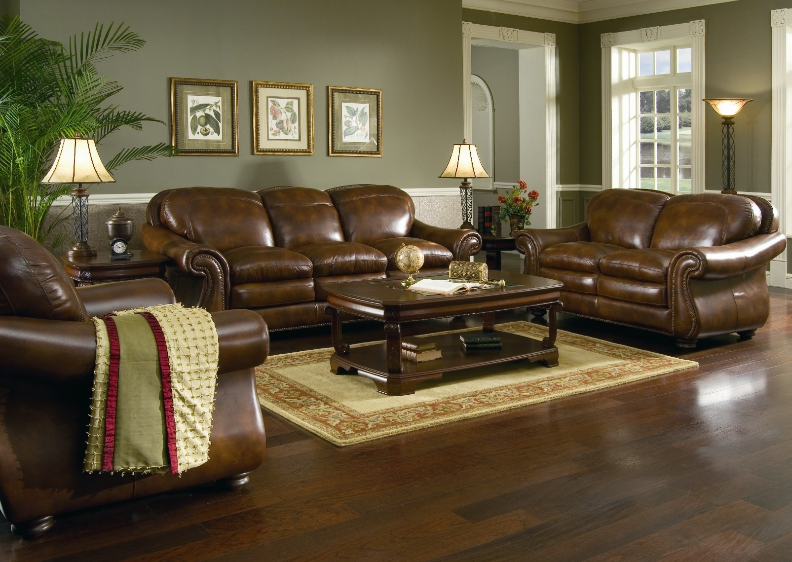 Leather Living Room Leather Living Room Sets Full Leather For Living Room Sofas And Chairs (Image 6 of 15)