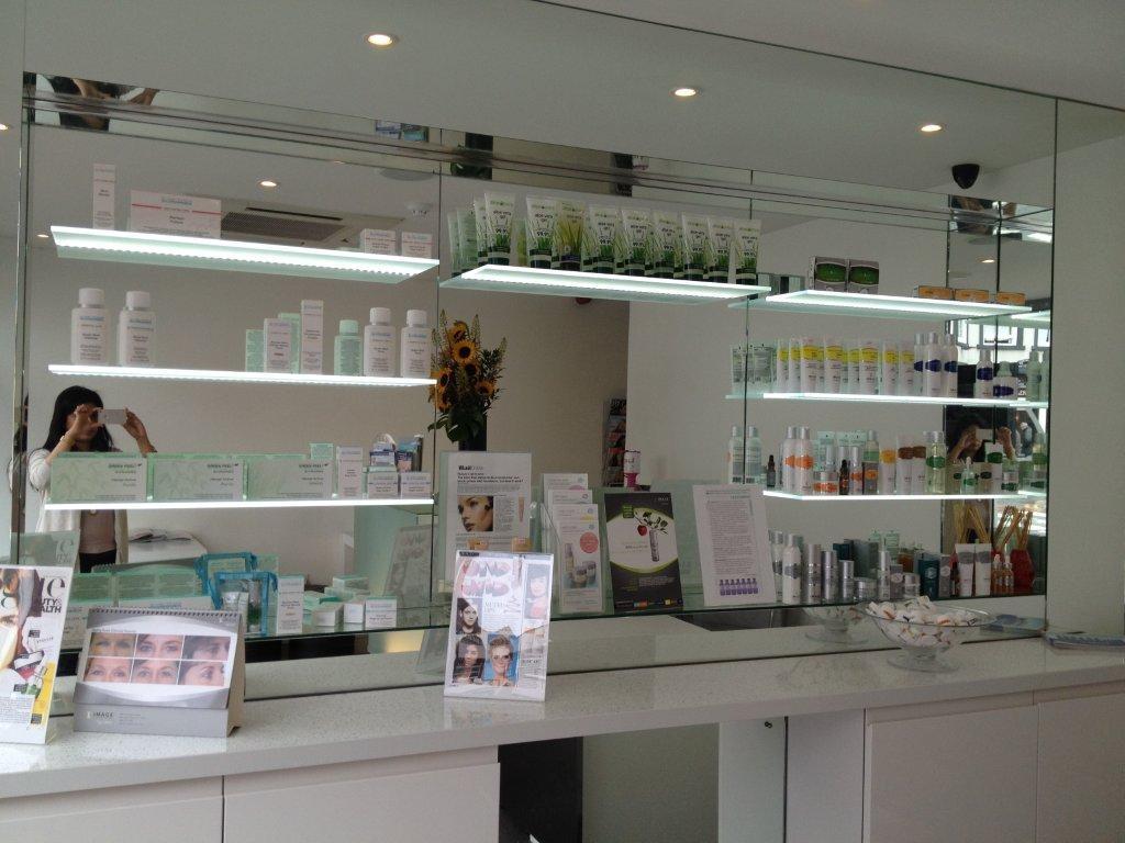 Led Illuminated Glass Shelves Illuminated Shelves Led Lit Shelves Within Illuminated Glass Shelves (View 4 of 15)