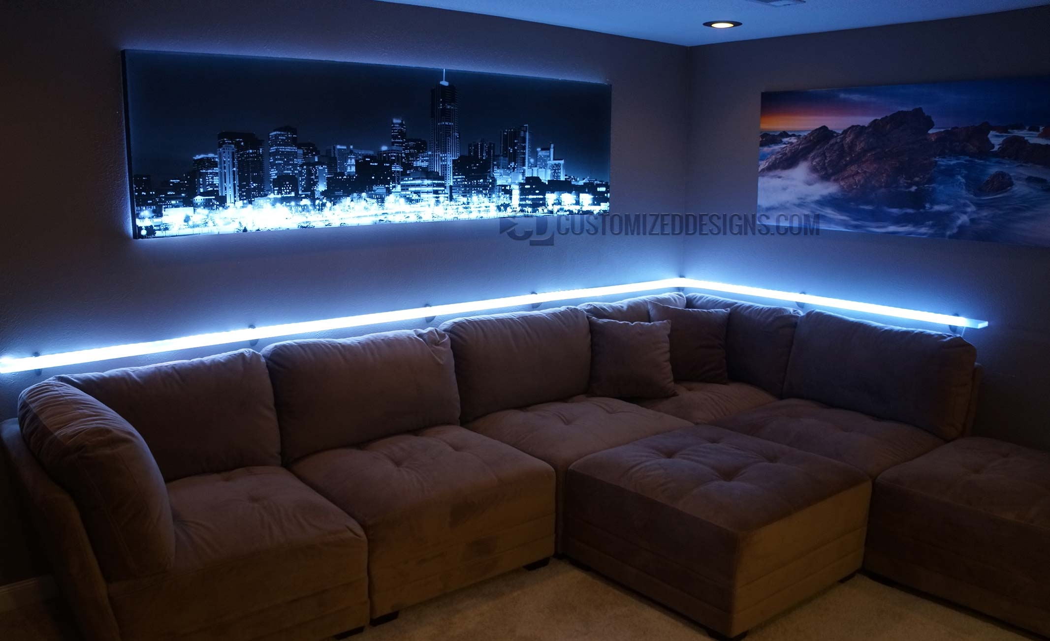 Featured Image of Led Floating Shelves