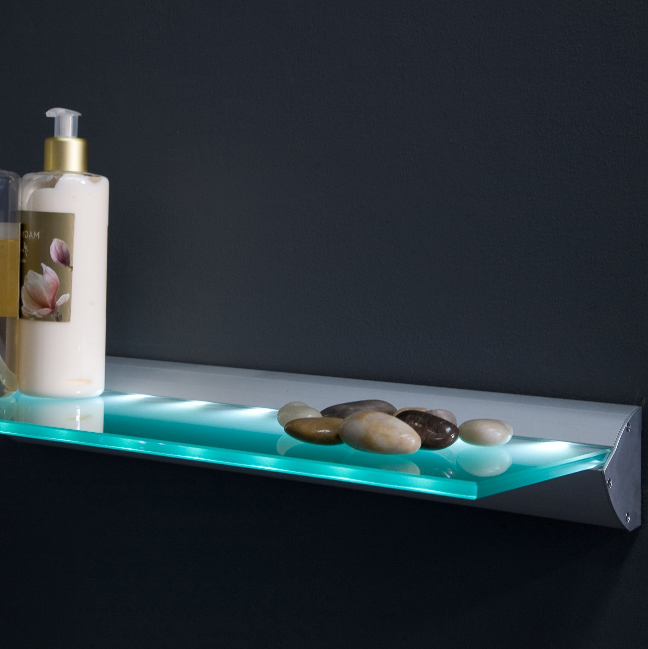 Led Shelf Lighting Throughout Illuminated Glass Shelf (View 15 of 15)