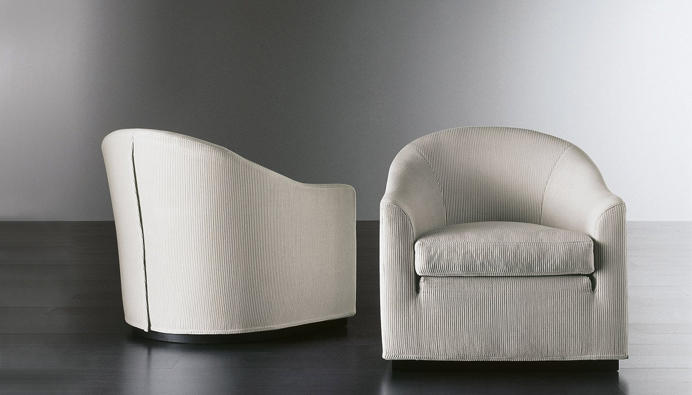 Lenny Fit Small Armchairs Meridiani Srl In Small Arm Chairs (Image 10 of 15)