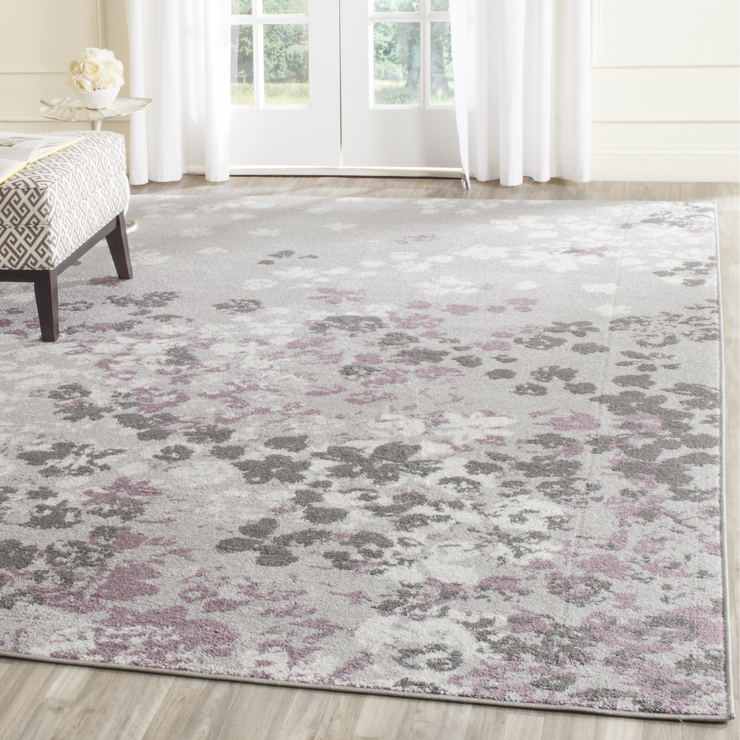 Light Purple Rugs Roselawnlutheran With Regard To Lilac Rugs (Image 6 of 15)