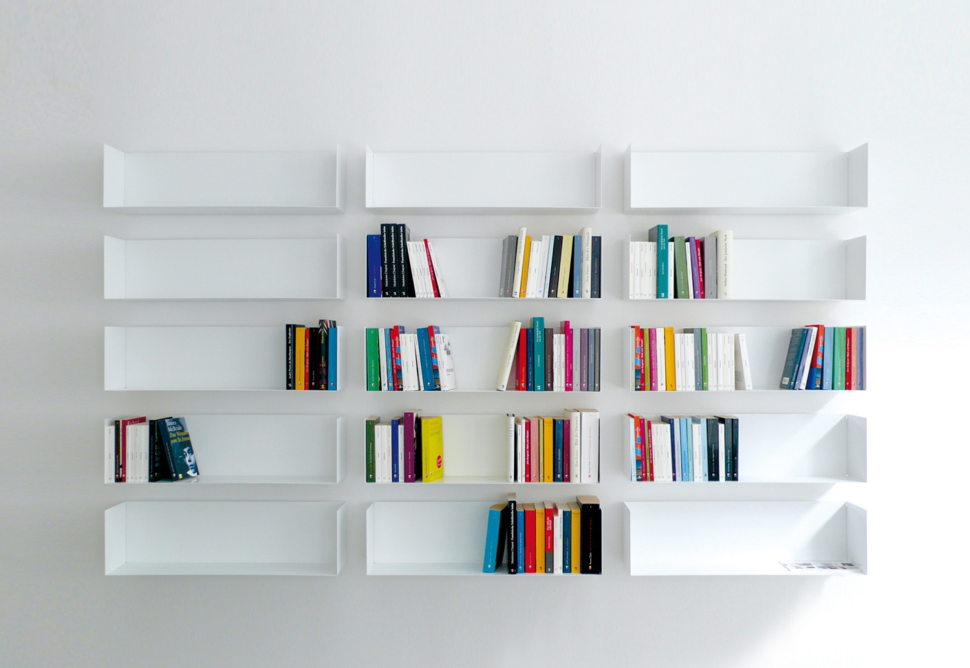 Linea1 A Book And Dvd Shelf Linea1 Stylepark With Regard To Invisible Dvd Shelf (View 9 of 15)