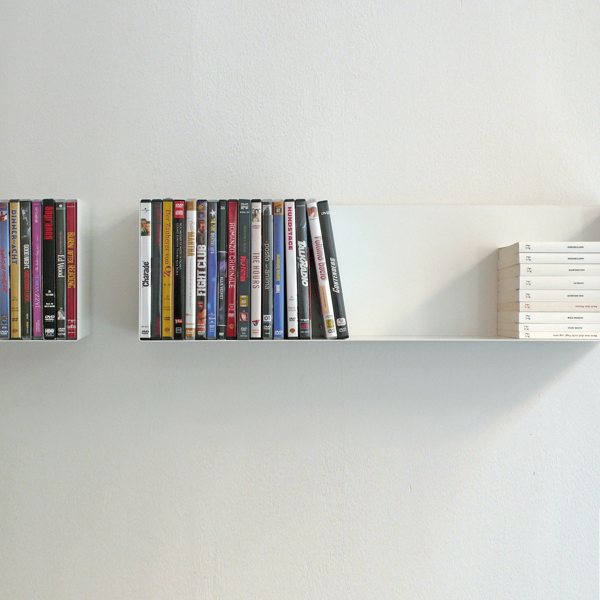 Linea1 A Paperback And Dvd Shelf In The Shop Pertaining To Invisible Dvd Shelf (View 7 of 15)