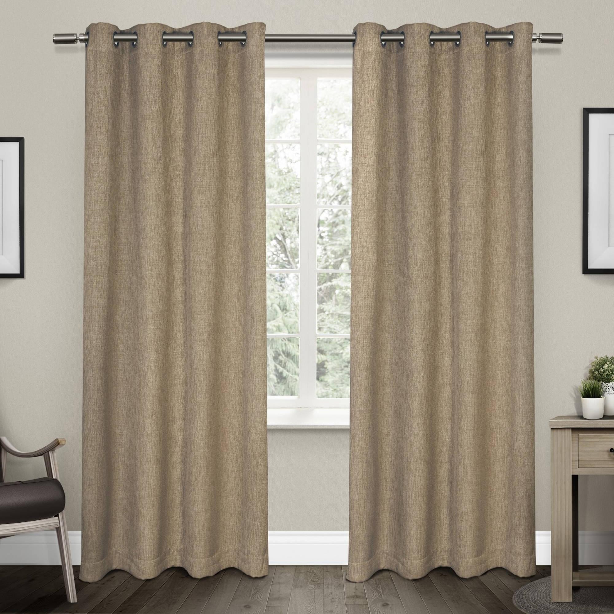 Linen Curtains Regarding Linen Grommet Curtains (Image 12 of 25)
