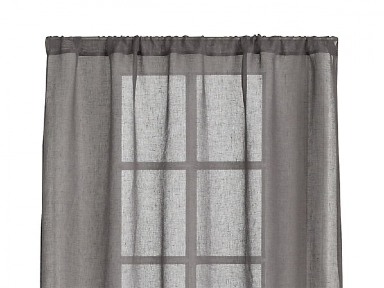 Linen Panel Curtains Grey Sheer Curtain Panels Dark Grey Sheer Inside Dark Grey Sheer Curtains (Image 19 of 25)
