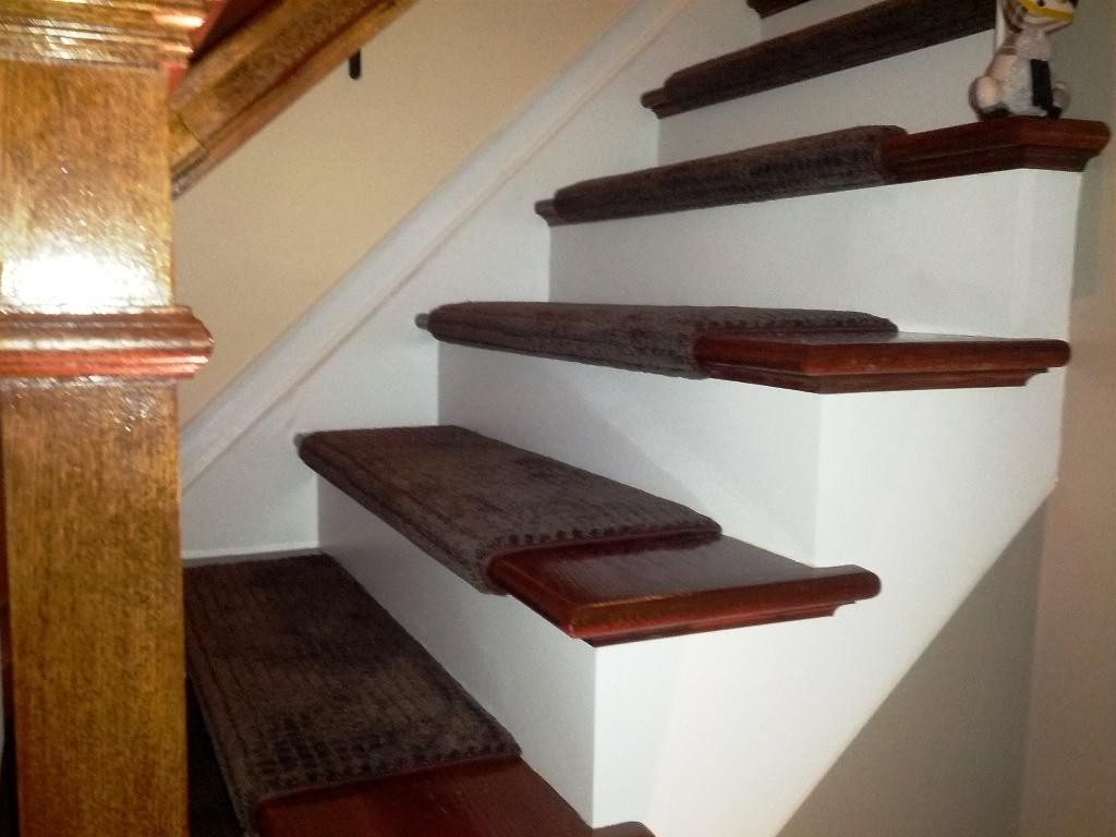Living Room Amusing And Very Elegant Stair Treads Carpet For Your With Stair Tread Rug Covers (Image 6 of 15)