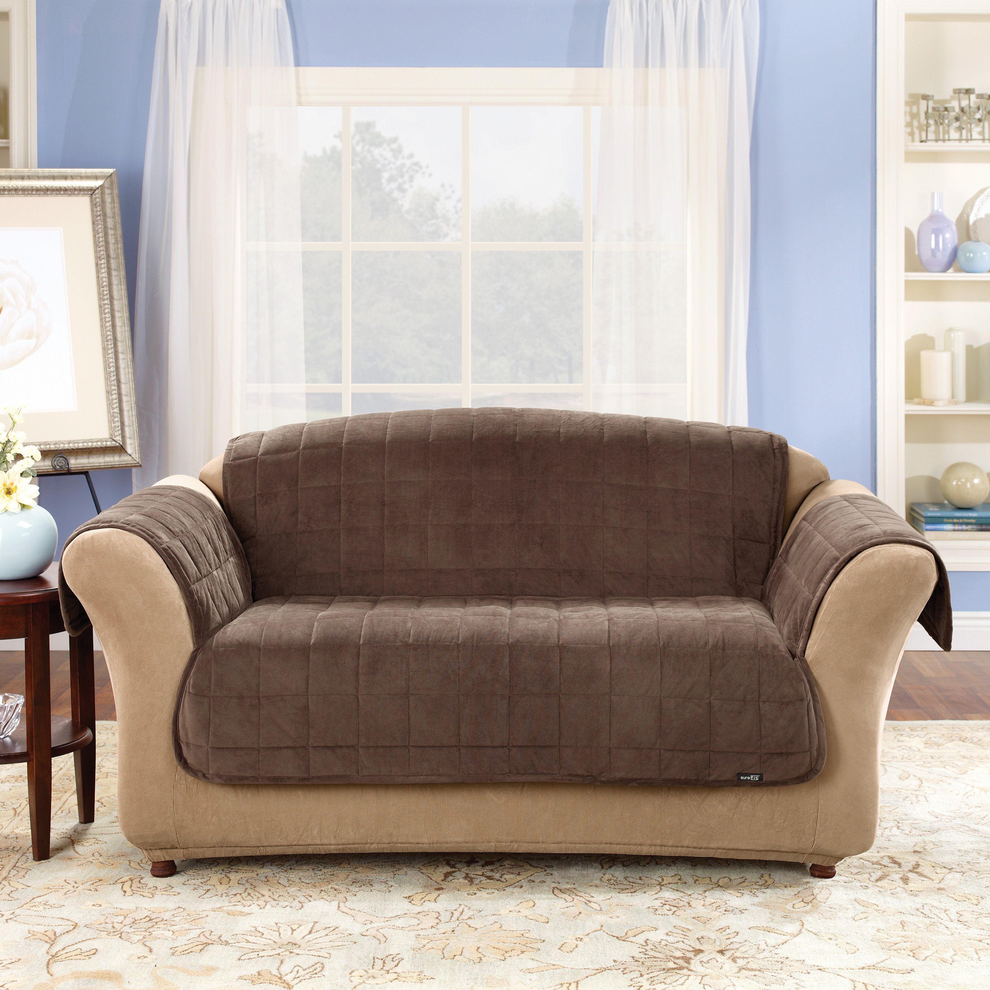 Living Room Appealing Couch Covers Target For Living Room Decor Throughout Sofa And Chair Covers (Image 6 of 15)