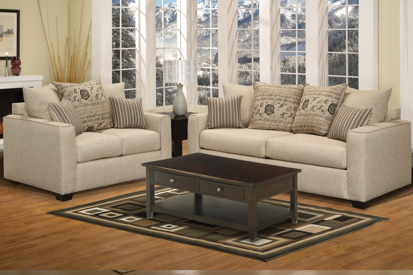 Living Room Interesting Sofa Loveseat Set Sofa Loveseat Chair Set Regarding Sofa Loveseat And Chairs (Image 6 of 15)