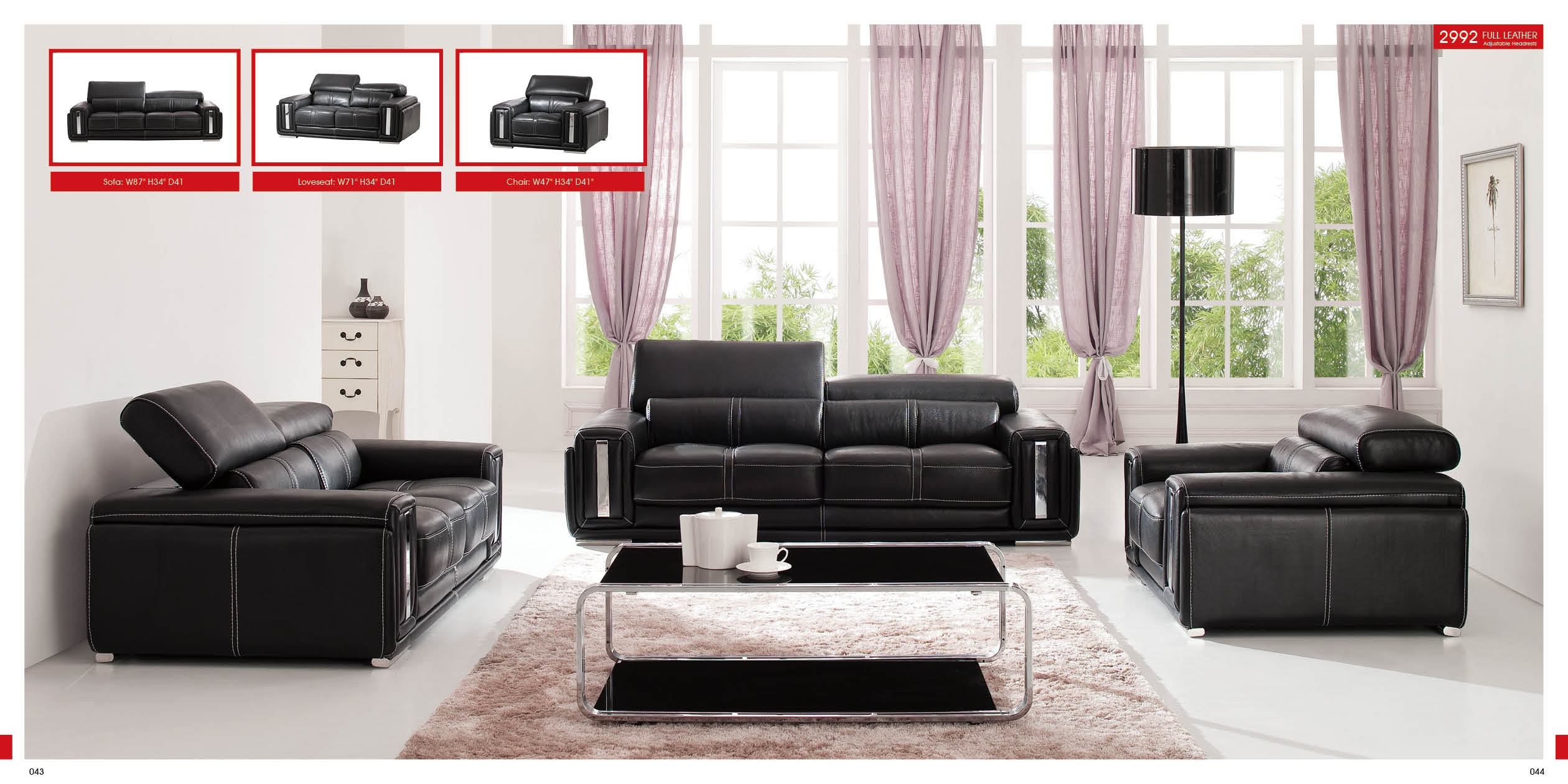 Living Room Modern Sofa Sets Eiforces For Living Room Sofa Chairs (Image 6 of 15)