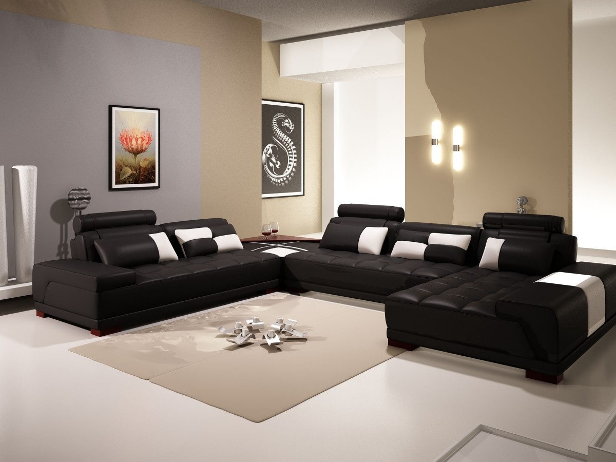 Living Room Wonderful Black Living Room Furniture Sets With Inside Sofa Chairs For Living Room (Image 13 of 15)