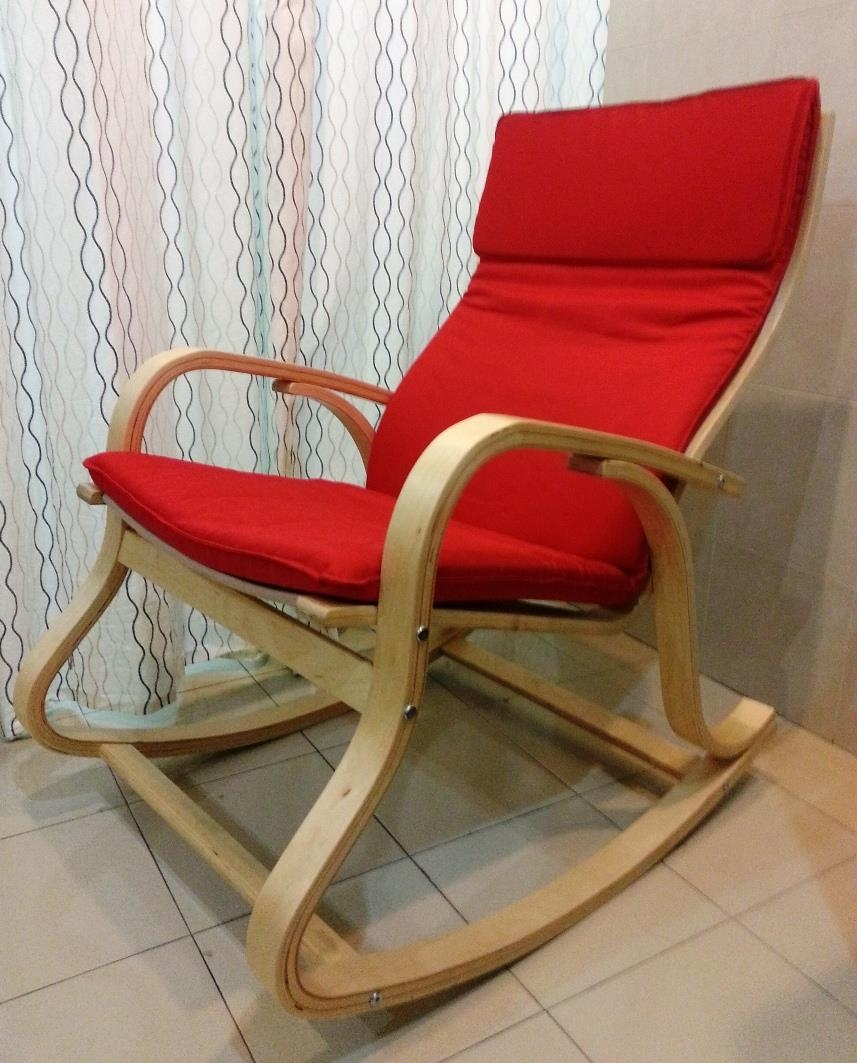 Log Wood Rocking Chair Free Plans The Waste Less Chair Home Inside Sofa Rocking Chairs (Image 4 of 15)