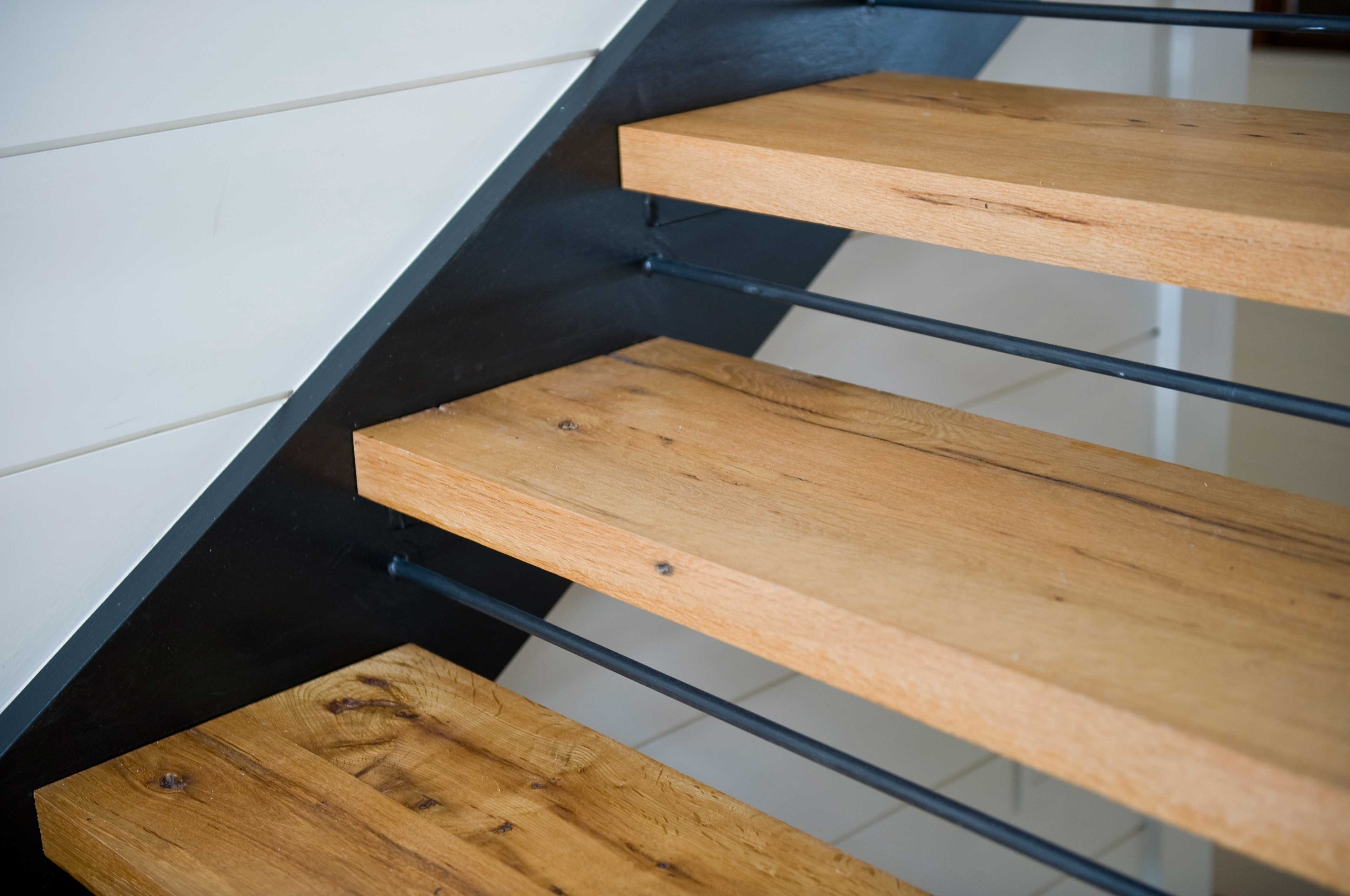 Longleaf Lumber Custom Reclaimed Wood Stair Treads Mouldings Pertaining To Contemporary Stair Treads (Image 11 of 15)