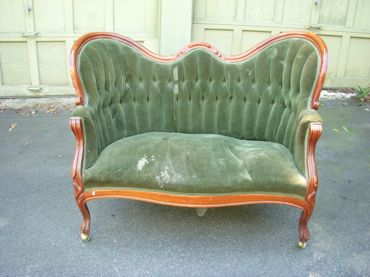 Look Past The Upholstery To A Great Chair Overstuffed Chairs Within 1930s Couch (Image 7 of 15)