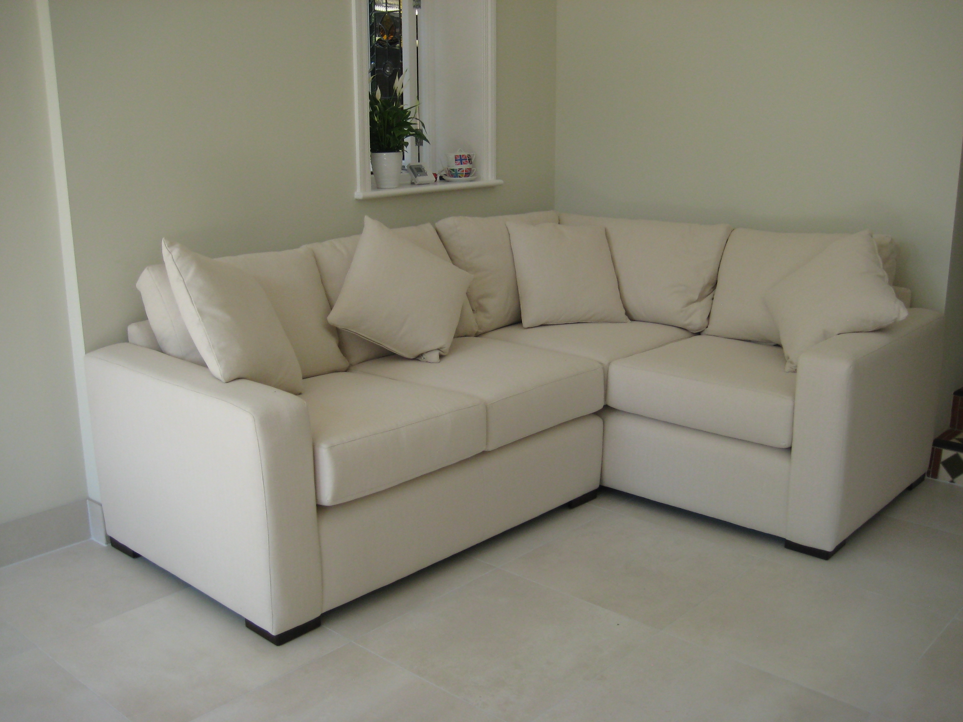 Lovely Example Of A Fully Bespoke Corner Sofa Properly Measured In Bespoke Corner Sofas (Image 14 of 15)