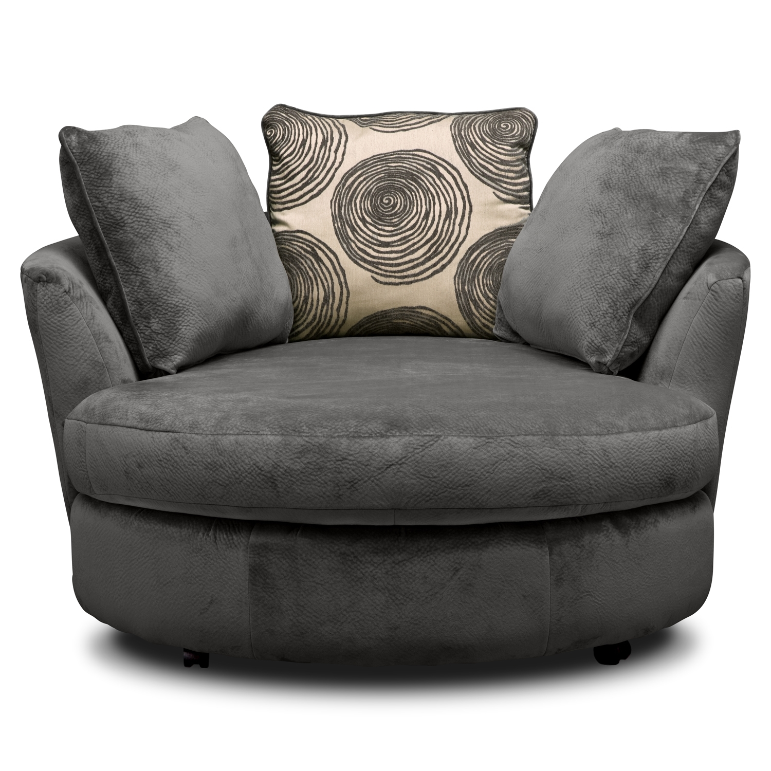 Lovely Swivel Sofa Chair 45 On Living Room Sofa Inspiration With Intended For Spinning Sofa Chairs (View 4 of 15)