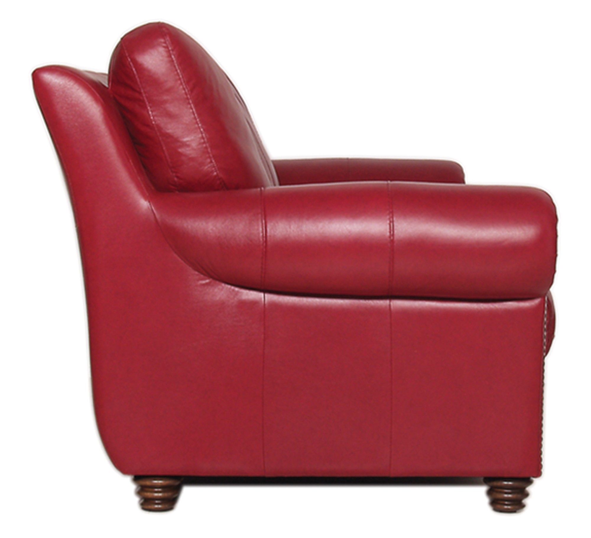 Luke Leather Furniture Weston Collection In Colorful Sofas And Chairs (Image 10 of 15)