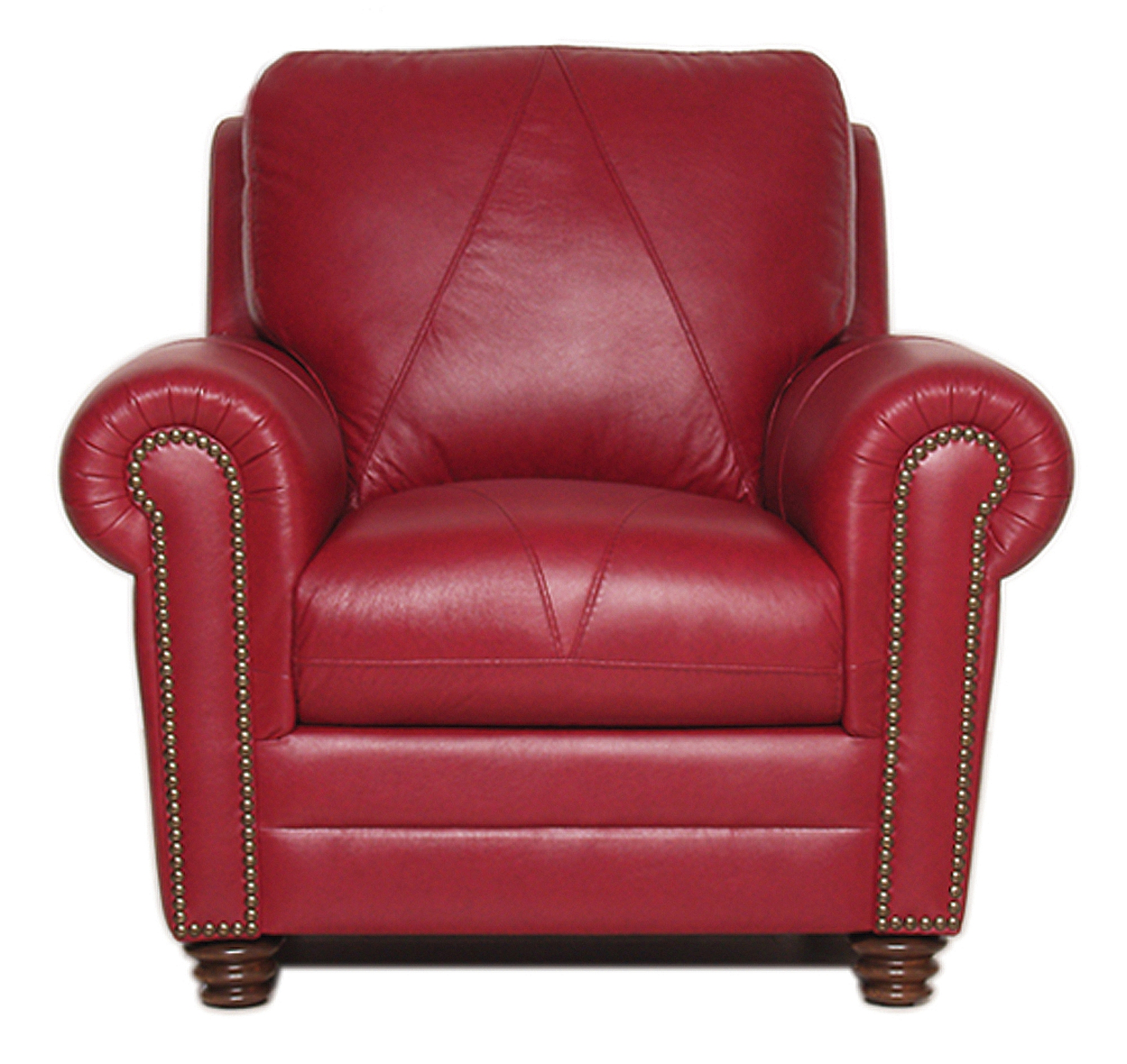 Luke Leather Furniture Weston Collection Within Red Sofas And Chairs (Image 6 of 15)