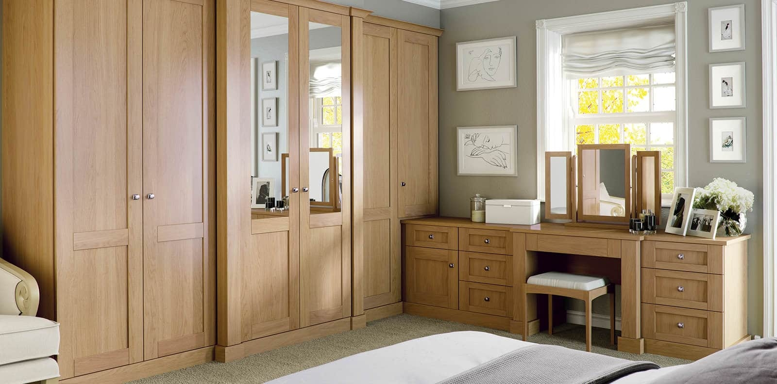 Luxury Fitted Bedroom Furniture Wardrobes Strachan Pertaining To Fitted Cabinets (Image 15 of 15)