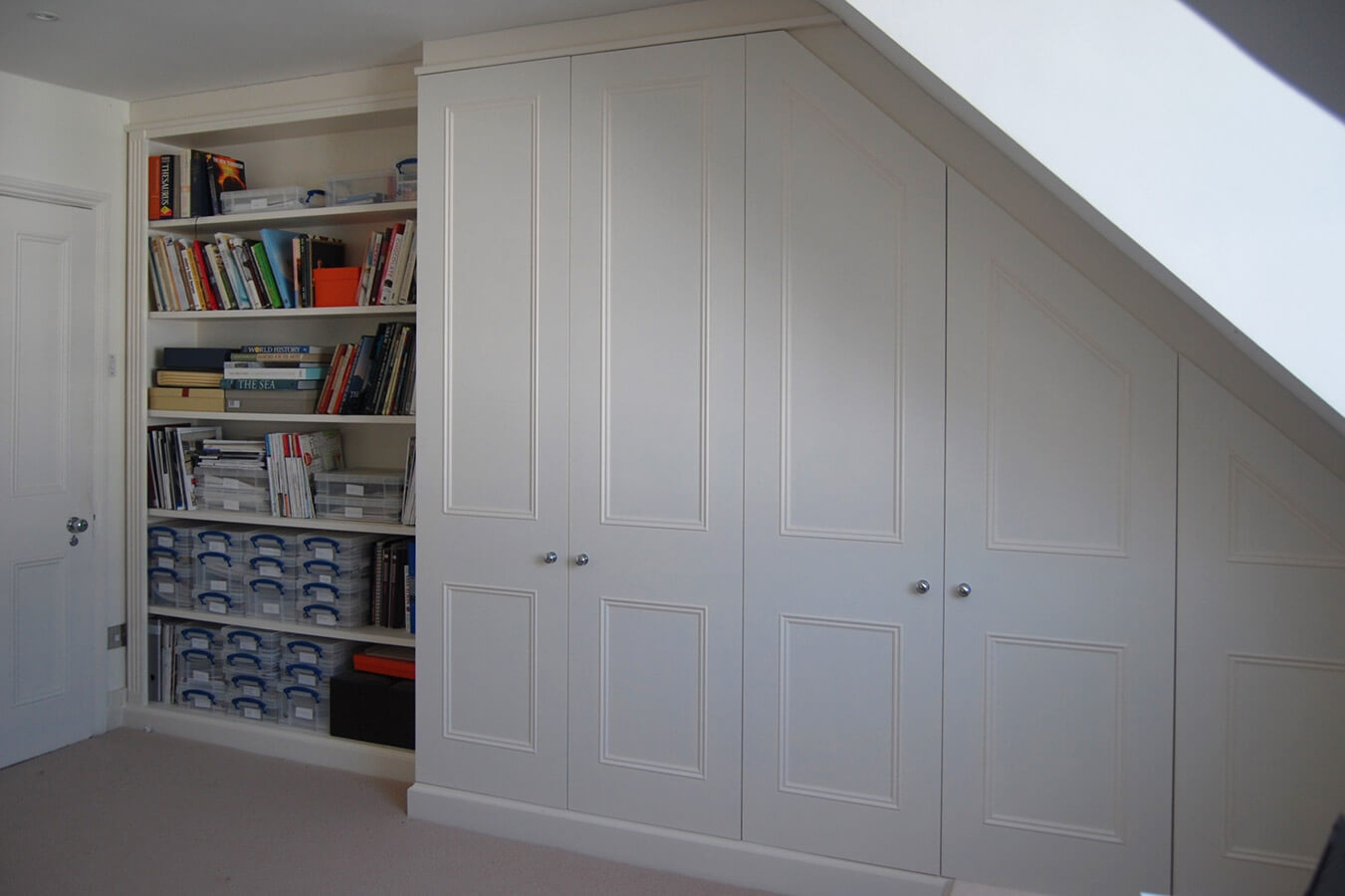 Made To Measure Home Offices Desks Drawers And Shelves In Study Cupboards (View 7 of 15)