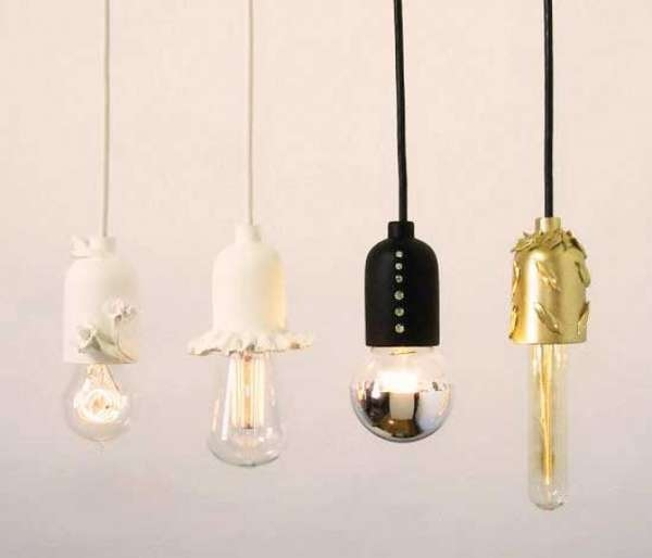 Magnificent Brand New Bare Bulb Pendants Throughout Elegant Bare Bulb Fixtures Shine Labs Solo Pendant (Image 15 of 25)