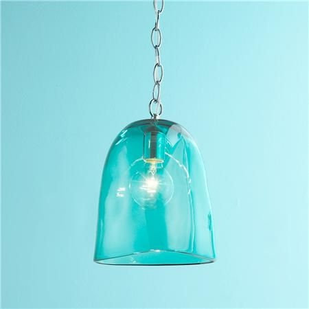 Magnificent Deluxe Aqua Glass Pendant Lights For 170 Best Turquoiseteal Aqua Images On Pinterest (View 9 of 25)