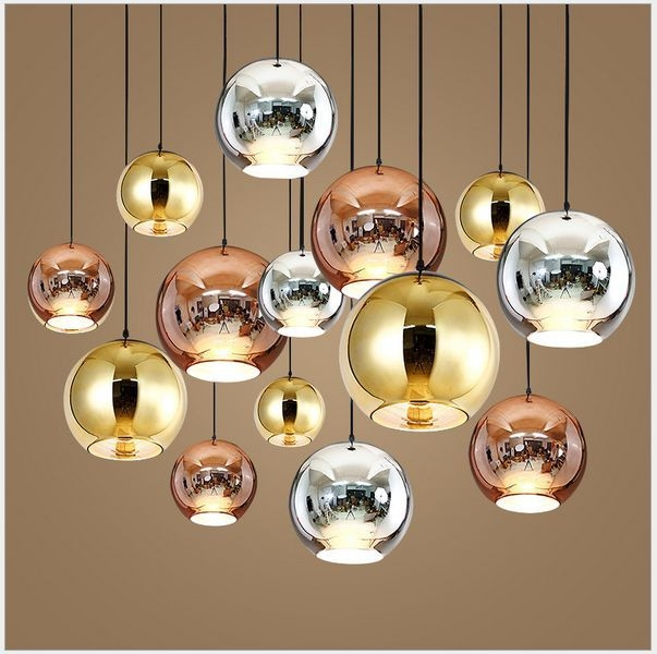 Magnificent Deluxe Disco Ball Pendant Lights Throughout Tom Dixon Lamps Lighting Ebay (Image 17 of 25)