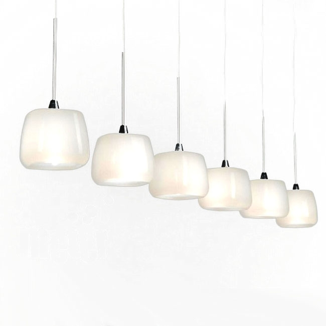 Magnificent Deluxe Milk Glass Pendant Light Fixtures In Modern Castiglioni Milk Glass Pendant Lighting 10512 Browse (Image 18 of 25)